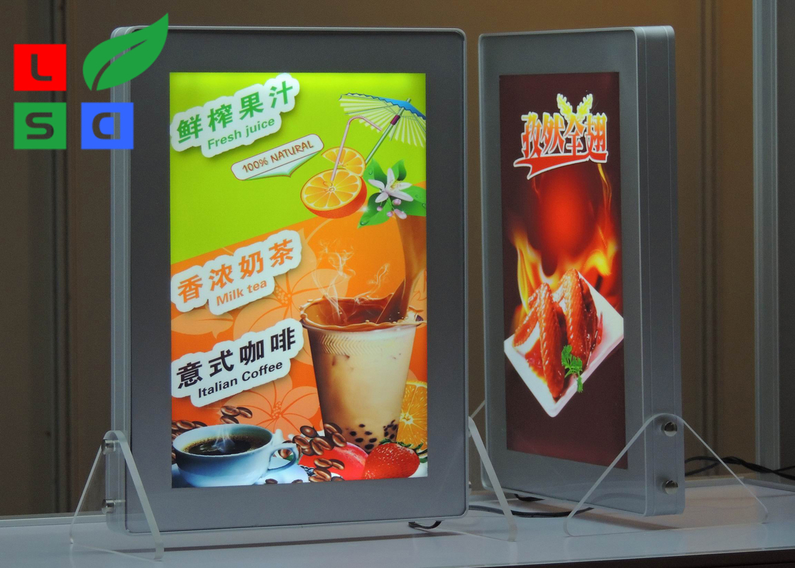 Desktop Eco - Friendly Popular LED Magnetic Light Panel For Table Standing